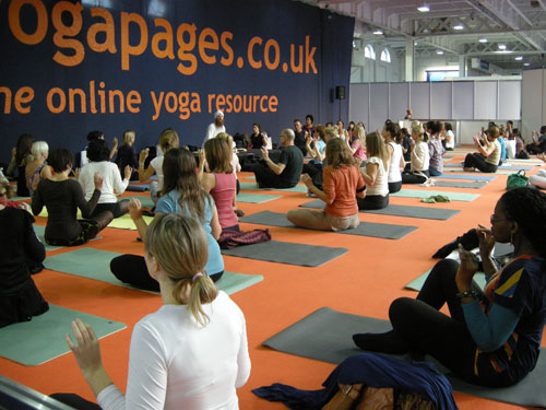 Kundalini Yoga at The Yoga Show UK